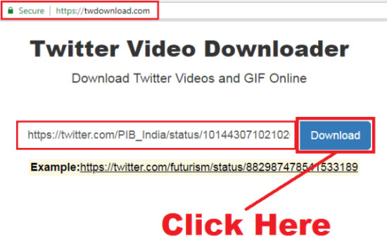 how to download twitter videos for free
