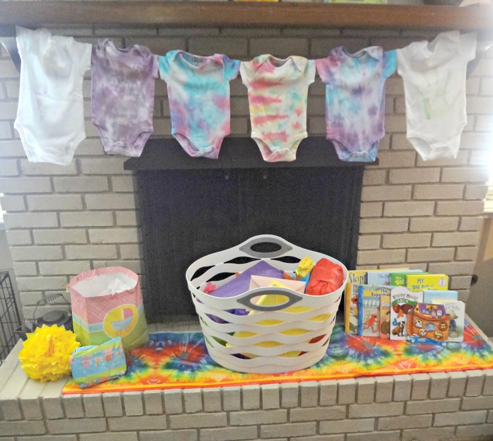 Tie Dye | Baby Shower ideas | Pinterest