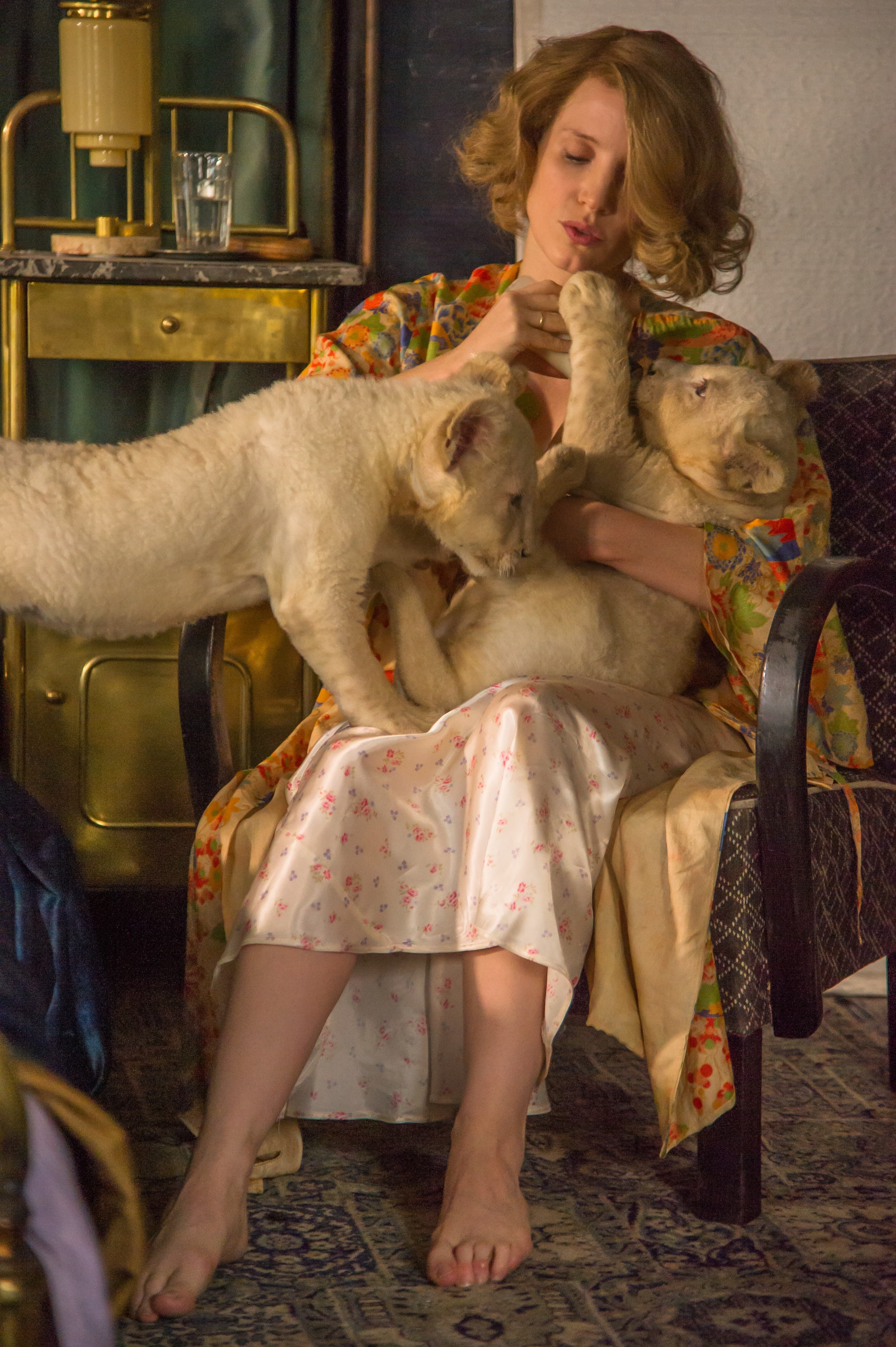 Screenshot of the film The Zookeeper's Wife