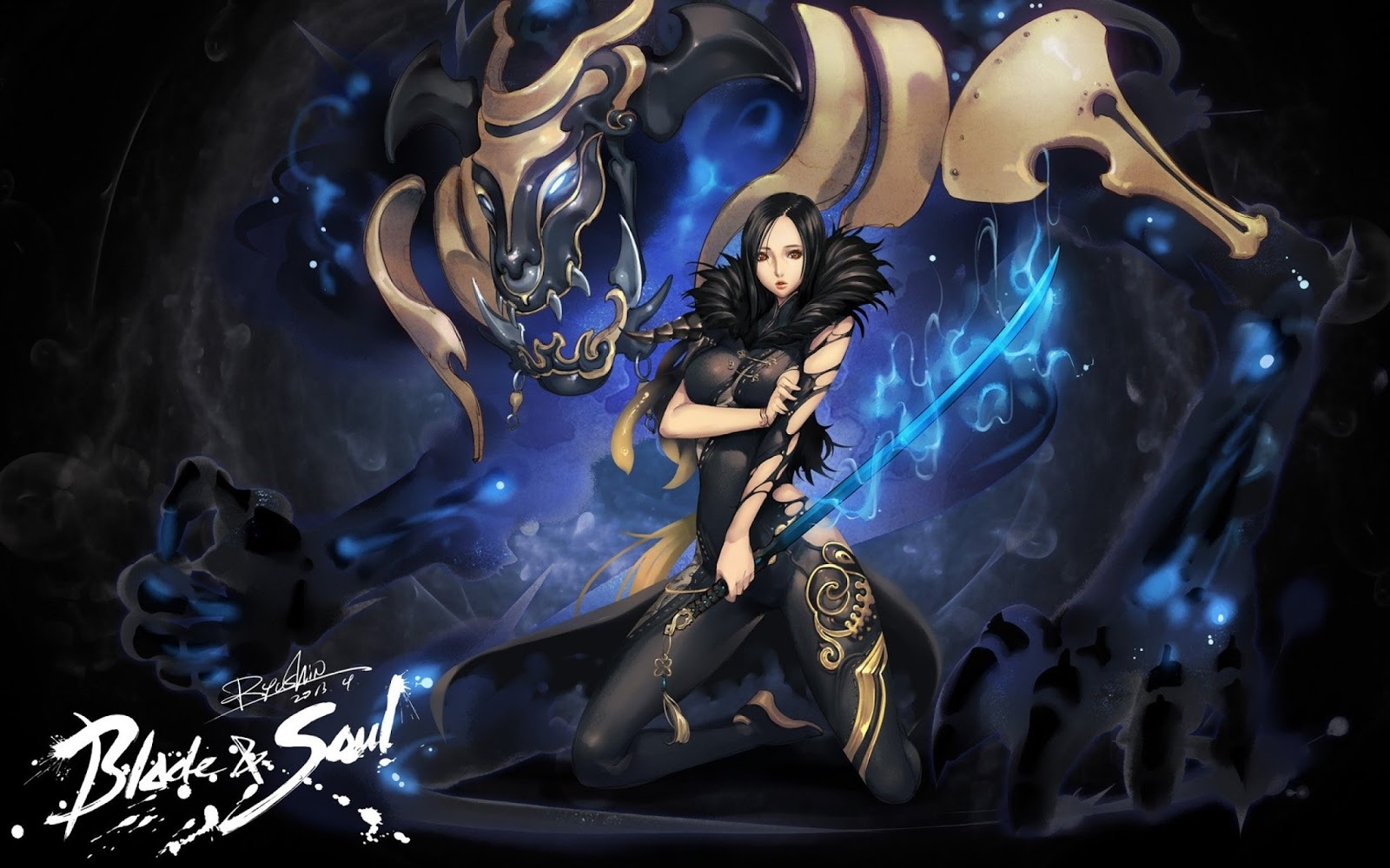 Blade & Soul BD Subtitle Indonesia Batch