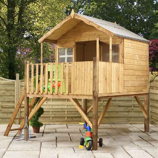 Diy girls and boys playhouse designs for backyard bahay ofw for Wood house plan