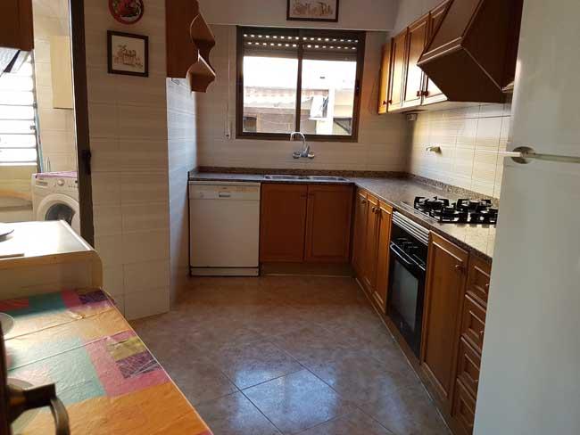 piso en alquiler ronda mijares castellon cocina