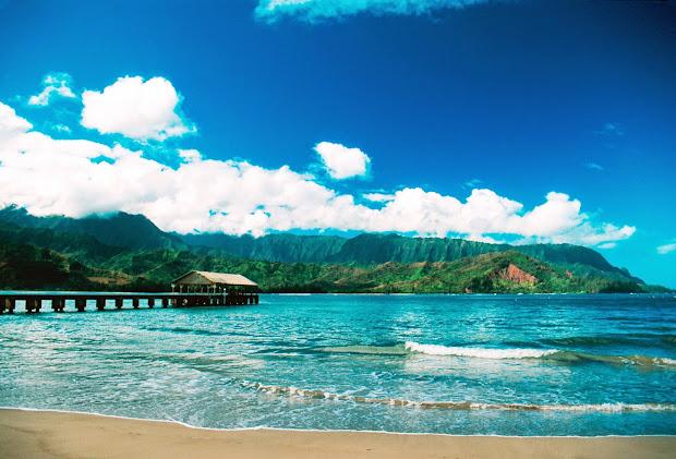 Kauai Hanalei Bay Beach