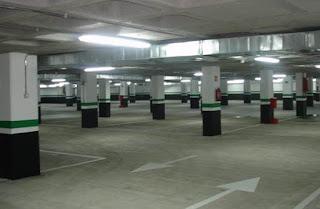 Parking en Hernán Cortés (Zaragoza)