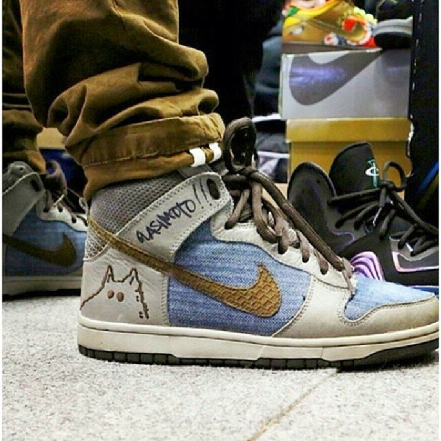 on sale 1236e d705c Autograph Nike SB Sample Quasimoto / photo via ...