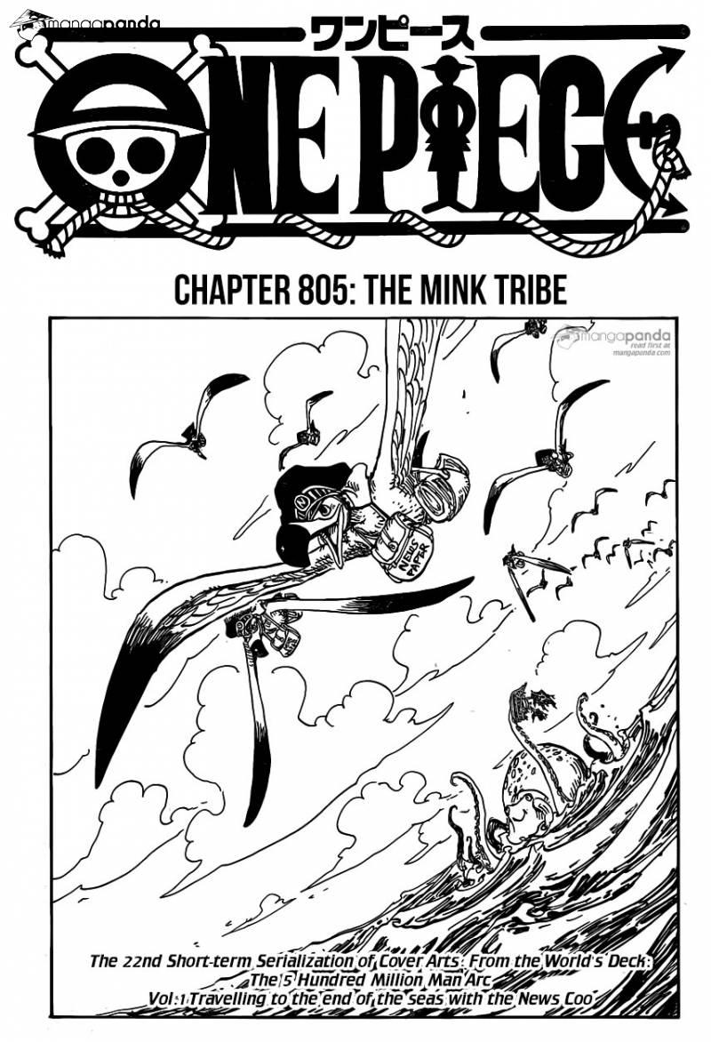 One Piece Ch 805