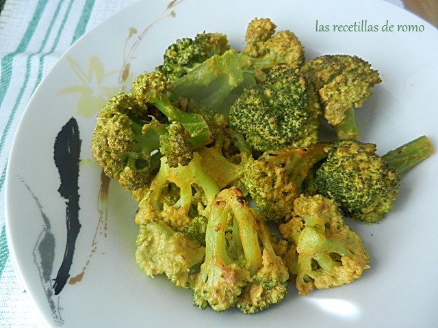 Brócoli con yogur y mostaza