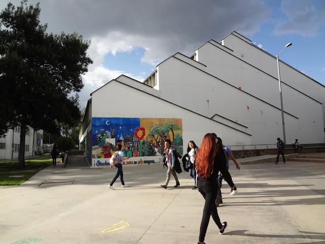 コロンビア国立大学のグラフィティアート