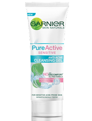 Pencuci muka garnier anti acne cleansing gel