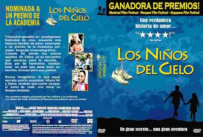 Carátula dvd: Los niños del cielo - 1997 - Los niños del paraíso