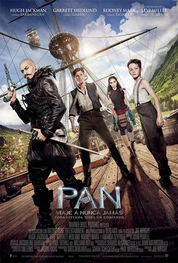 Peter Pan (2015) DVDRip Latino