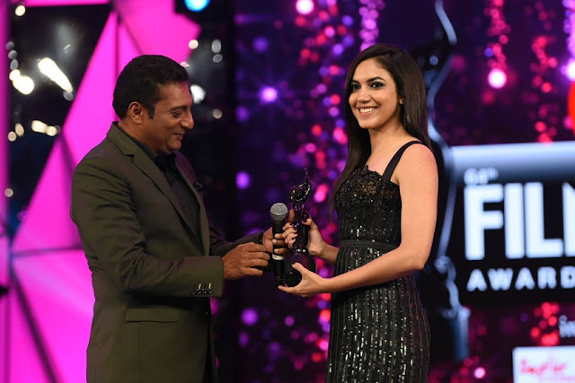 Actress Ritu Varma at Filmfare Awards South 2017