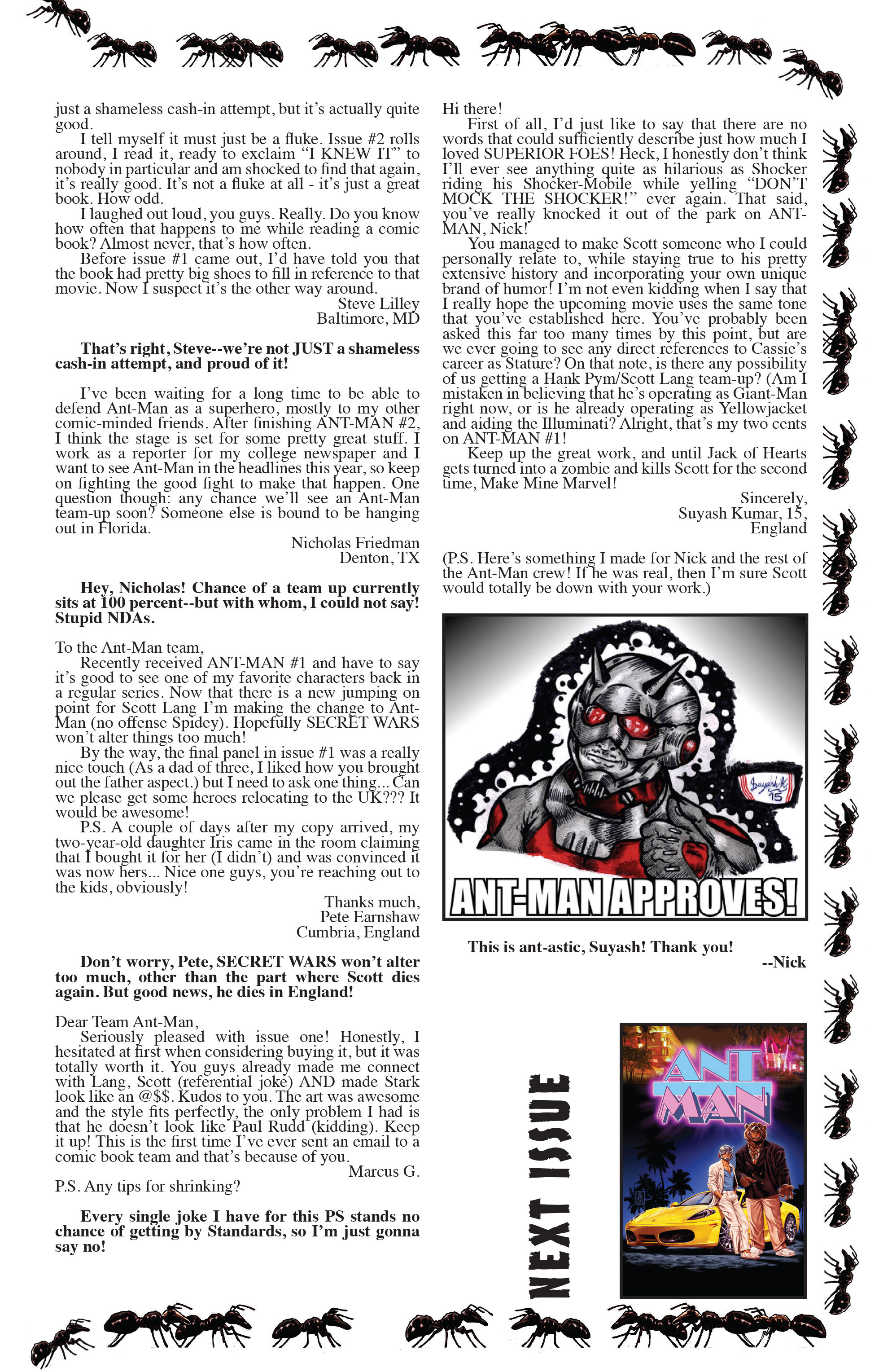 Read online Ant-Man comic -  Issue #3 - 24