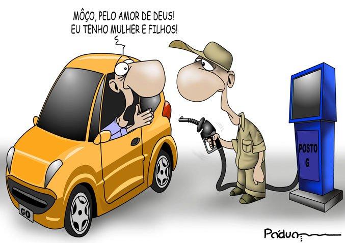 Resultado de imagem para gasolina mais cara