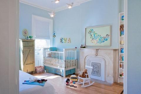 Dise os de cuartos para beb s ni os ideas para decorar for Dormitorio bebe varon