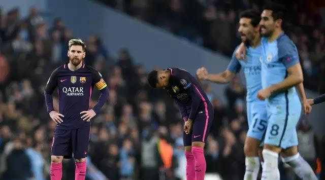 7 Fakta Menarik Kemenangan Manchester City atas Barcelona