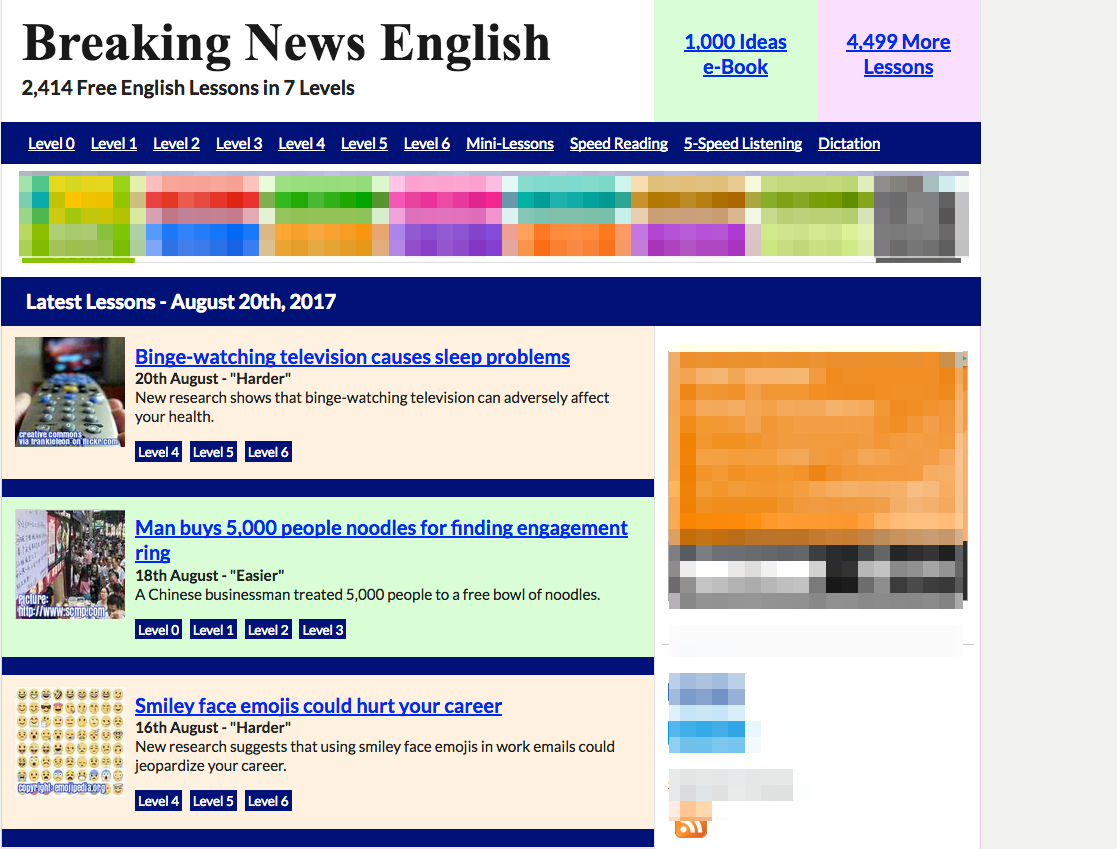 www breakingnewsenglish com level 3