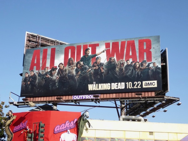 Walking Dead season 8 billboard