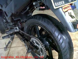 Jual Motor Honda Tiger full modification for touring jakarta timur