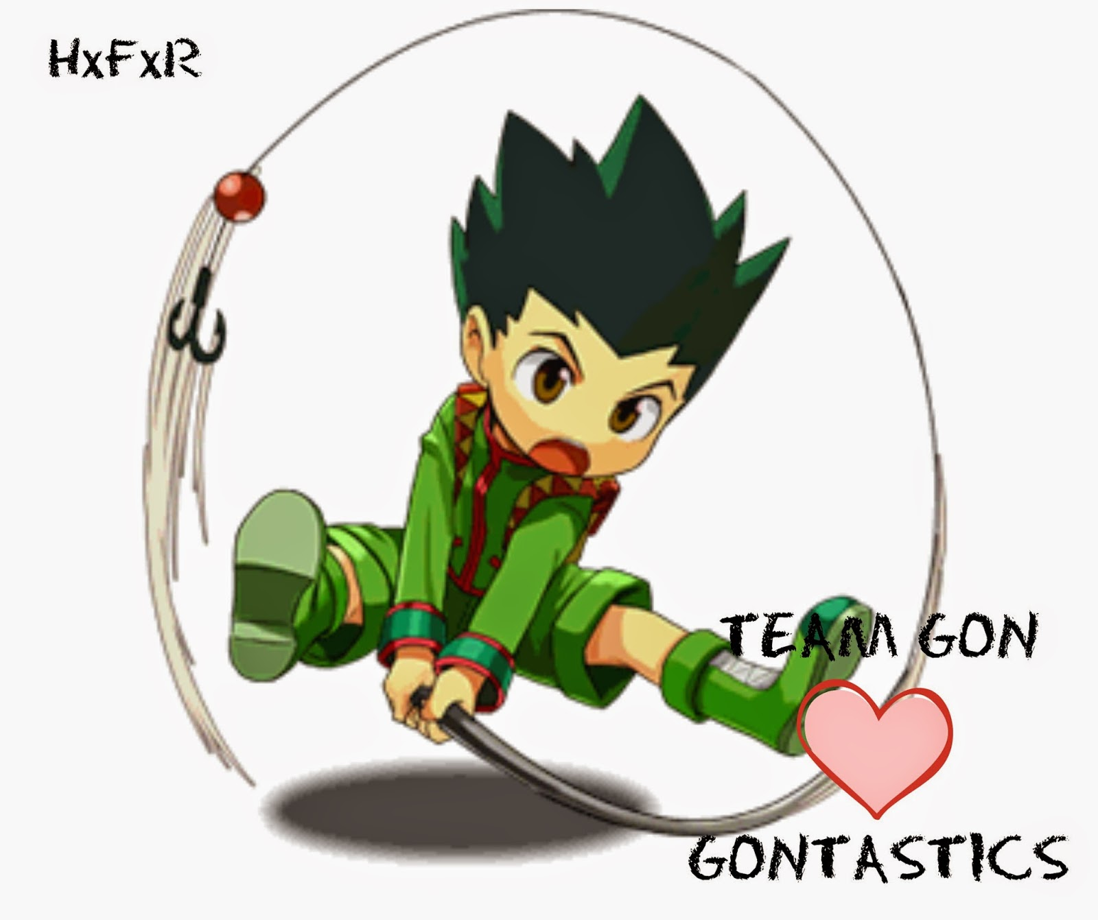 Gon Freecss, Hunter x Hunter, hxfxr