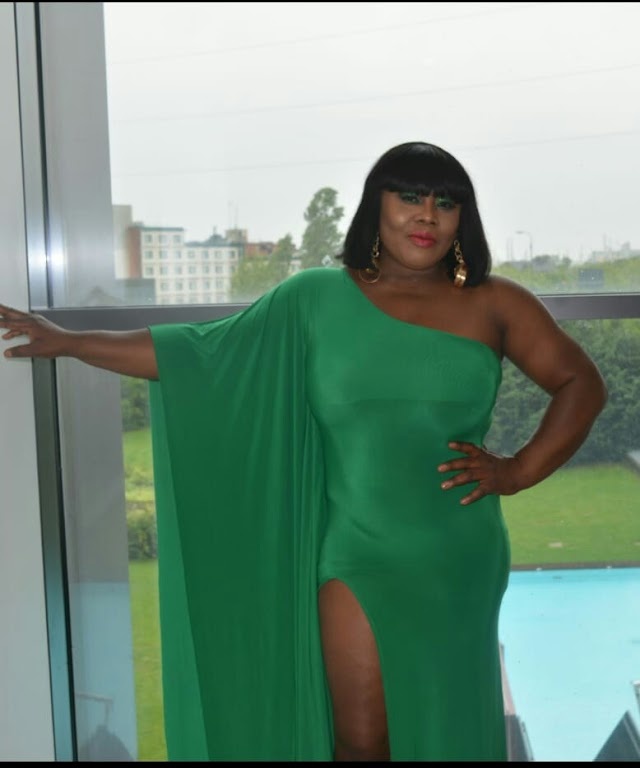London Based Celebrity Stylist, Vivian Ologwu, Paints Venice Green/White/Red For Her 45th Birthday Bash