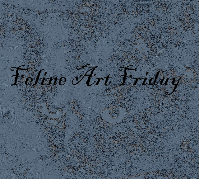 Feline Art Friday