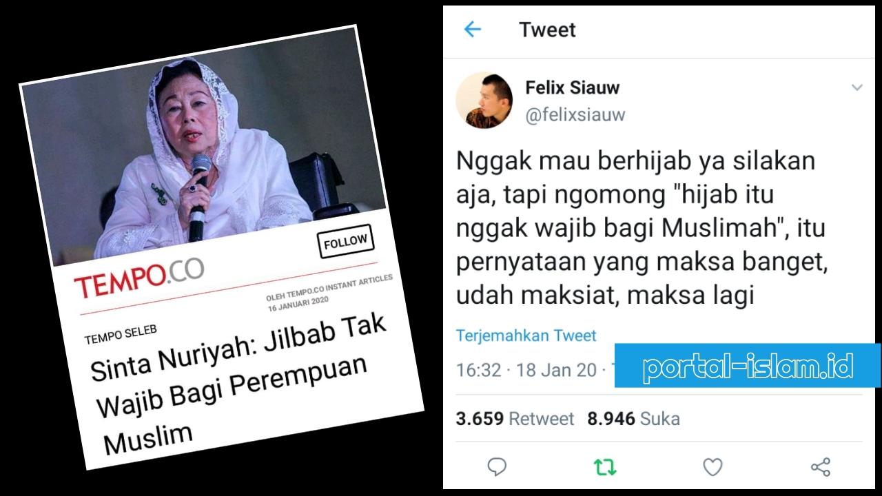Felix Siauw Gak Mau Berhijab Ya Silakan Tapi Jangan Maksa Bilang Hijab Gak Wajib Portal Islam