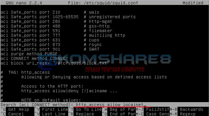 Install dan Konfigurasi Proxy Server pada Debian Server