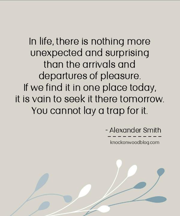 Alexander Smith Quote