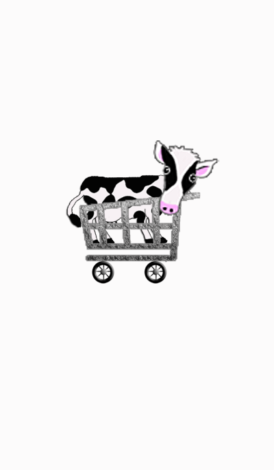 Cow in Cart*