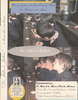 Pochette du DVD « De Jules à Julien » en vente au musée (mise en scène et réalisation Roland Quenouille)
