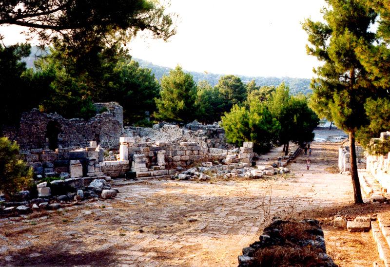 Phaselis Antik Kenti Resimleri