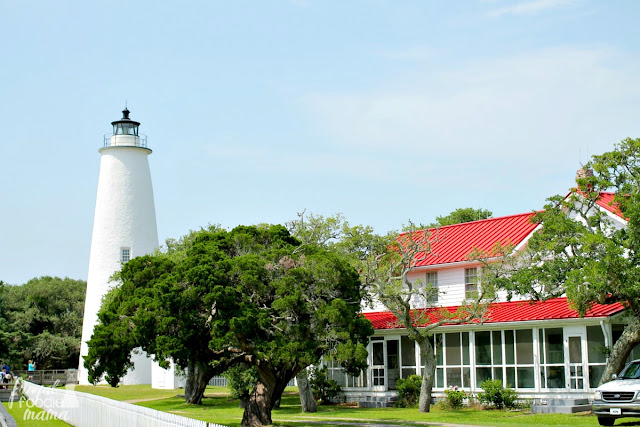 Built in 1823 & being one of the oldest lighthouses still in active service in the United States, the Ocracoke Lighthouse is not open for climbing tours.