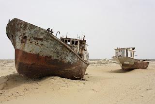 Aral Sea Muynak Uzbekistan