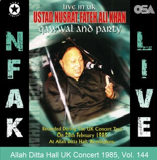 Allah Ditta Hall UK Conce