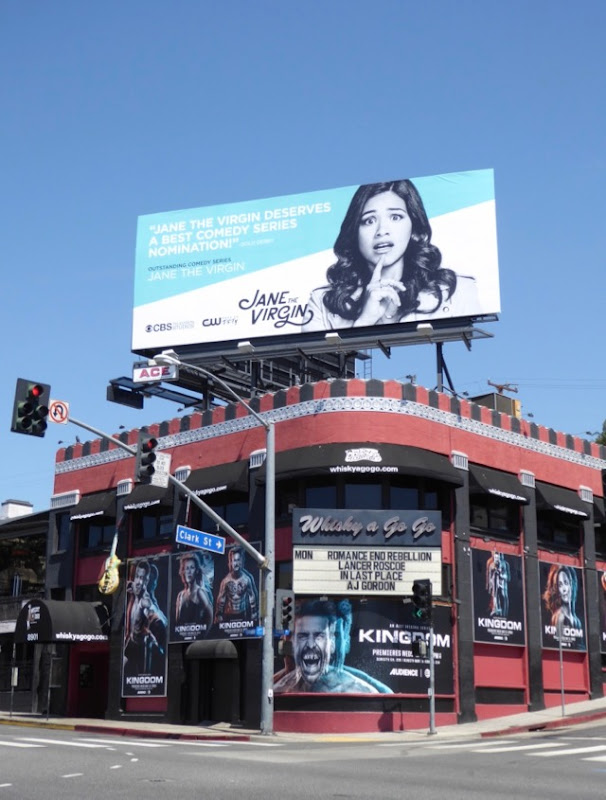 Jane the Virgin season 3 Emmy FYC billboard