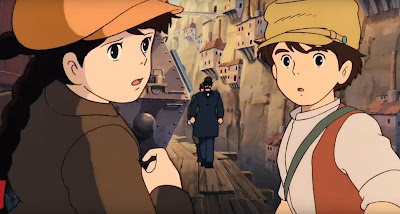 One of Yu Suzuki's favorite films: Castle in the Sky.