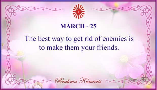 Thought For The Day March 25