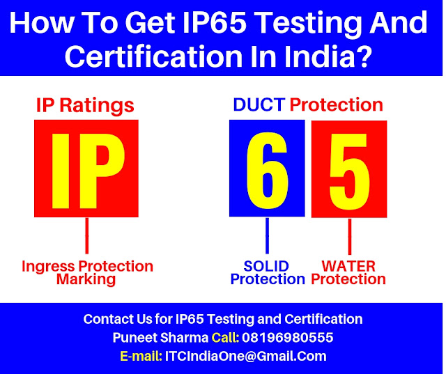 IP65 Testing And Certification In India