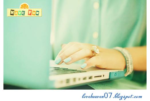 Tujuan dan alasanku membuat blog | LOVEHEAVEN 0 7