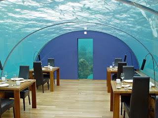 Ithaa Undersea Restaurant, Maldive