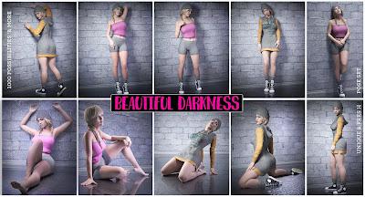 iG Beautiful Darkness Poses for Genesis 8 Female