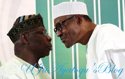 Buhari attacks Obasanjo, says he is confused, using God's name in vein