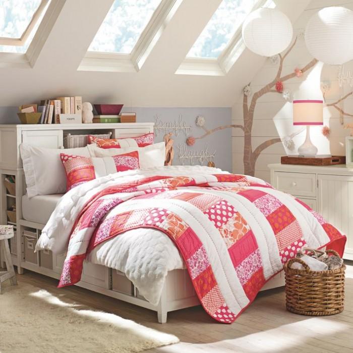 Hogares frescos 100 dise os de habitaciones para ni as for Dormitorios para 4 ninas
