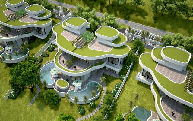 Mẫu thiết kế biệt thự Lâm Sơn Resort