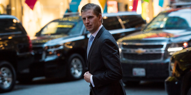 Eric Trump's trip to Uruguay cost US taxpayers $98,000 in hotel bills