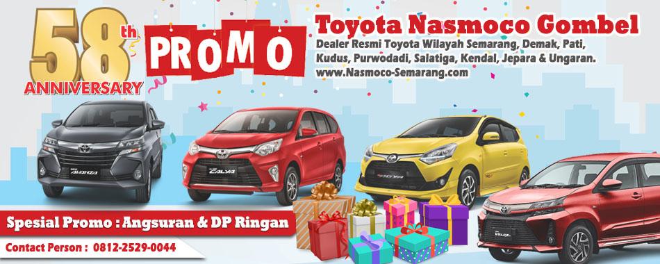 Spesial Promo Dp Rendah Kejutan Nasmoco April 2019 Nasmoco Toyota Gombel Semarang