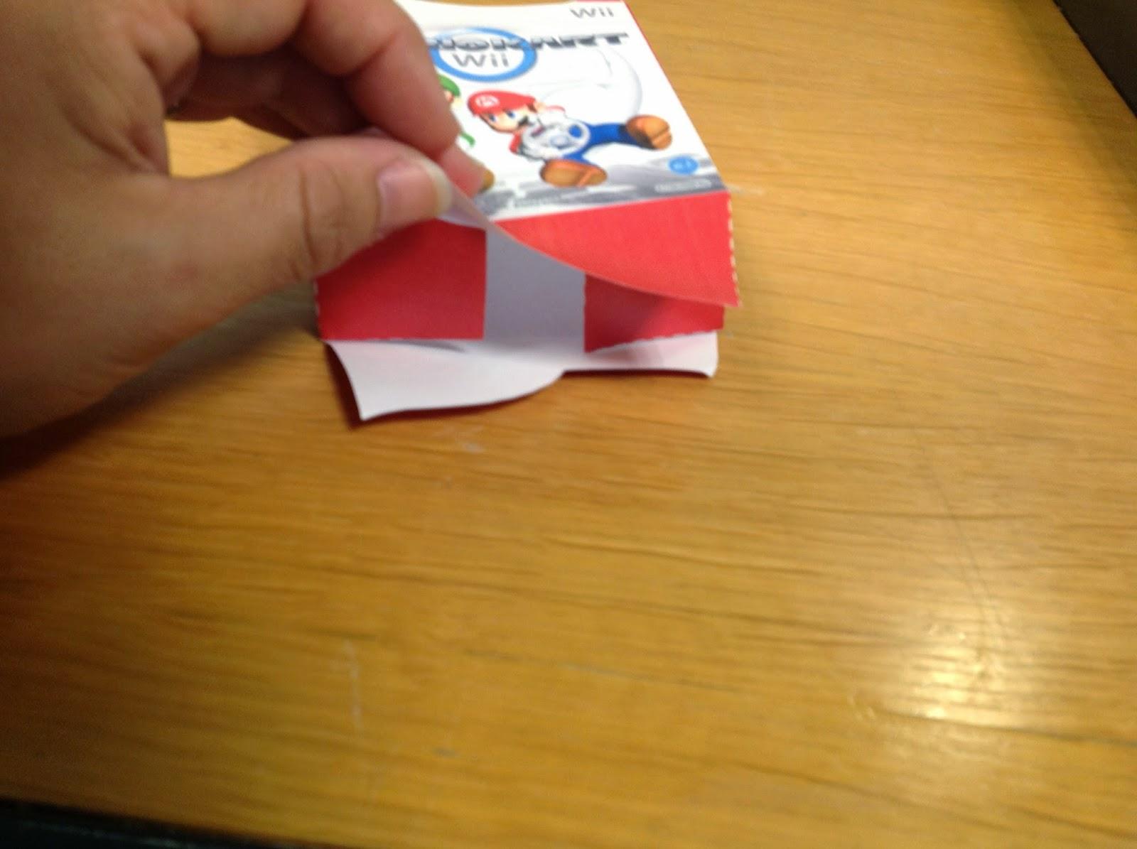 mario kart party favor bag free printable