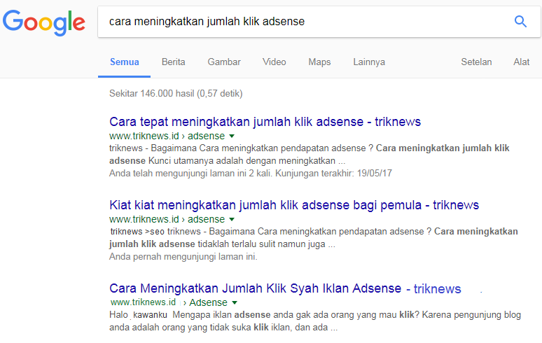 Cara Menghilangkan Lepas Postingan pada Hasil Pencarian Google