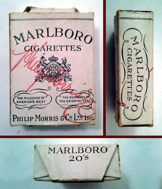 Marlboro pack 1920s